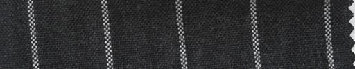 【Ha_fr55】チャコールグレー+2cm巾白太ストライプ