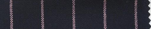 【Ha_fr58】ネイビー+2cm巾ピンク太ストライプ