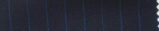 【Ha_fr59】ネイビー+1.1cm巾ブルーストライプ