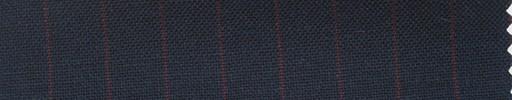 【Ha_fr60】ネイビー+1.1cm巾エンジストライプ