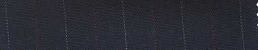 【Ha_fr61】ネイビー+2.1cm巾エンジ・白交互ストライプ