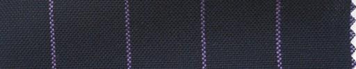 【Ha_fr65】ネイビー+2cm巾パープルストライプ