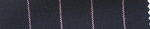 【Ha_fr66】ネイビー+2cm巾ピンクストライプ