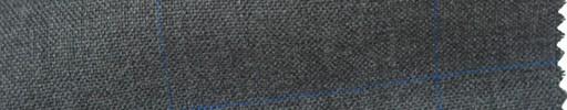 【Ha_fr68】ミディアムグレー+6.5×4.5cmブルー・ウィンドウペーン