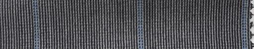 【Ha_fr74】白黒ピンチェック+4.5×4cm水色ウィンドウペーン