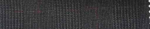 【Ha_fr78】グレーグレンチェック+5.5×4cmエンジ・ウィンドウペーン