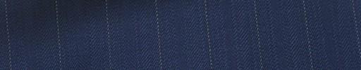 【Hs_ts07】ライトネイビー柄+1.3cm巾白ストライプ