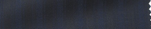【Hs_ts12】黒柄+1cm巾ネイビーストライプ