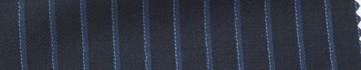【Hs_ts15】濃紺地+8ミリ巾ブルー・水色ストライプ