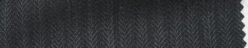 【Hs_ts20】チャコールグレー8ミリ巾ブロークンヘリンボーン