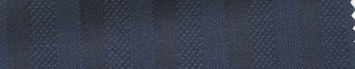 【Hs_ts29】ネイビー柄+2cm巾織りストライプ