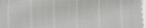 【Hs_ts31】オフホワイト柄+1.5cm巾白織りストライプ