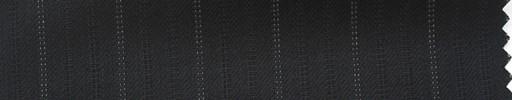 【Hs_ts32】黒柄+1.5cm巾白織りストライプ