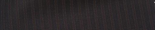 【Hs_ts38】ダークレッドブラウン柄+5ミリ巾織りストライプ