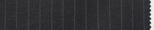 【Br_5w009】チャコールグレー地+8ミリ巾グレー交互ストライプ