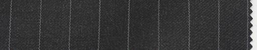【Br_5w013】チャコールグレー地+1.1cm巾白ストライプ