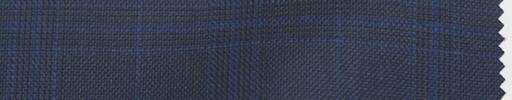【Do_5w007】ネイビーグレンチェック+5×4cmブループレイド