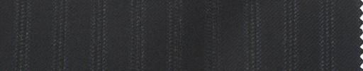 【Lo_5w033】黒地+9ミリ巾織りストライプ