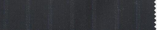 【Lo_5w034】濃紺地+1.3cm巾薄ブルードット・織り交互ストライプ