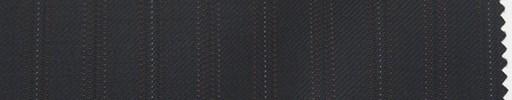 【Lo_5w053】濃紺地+2.2cm巾エンジ・白織りドット交互ストライプ