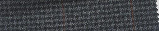 【Ew_5w027】グレー・ダークグレーハウンドトゥース+7×5.5cm赤茶プレイド