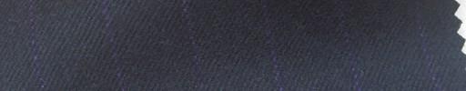 【Ha_FL06】黒紺地+1.5cm巾パープルストライプ