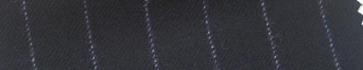 【Ha_FL14】黒紺地+1.5cm巾パープルストライプ