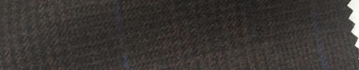 【Ha_FL31】ダークブラウングレンチェック+7×5.5cmブループレイド