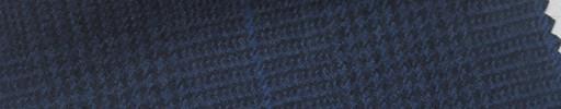 【Ha_FL35】紺黒グレンチェック+7×5.5cmブループレイド