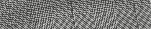 【Ha_fc37】白黒グレンチェック+6×5cm黒プレイド