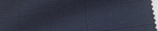 【Ha_fc39】紺黒グレンチェック+6×5cm黒プレイド