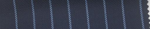 【Ha_fc66】ライトネイビー地+1.4cm巾ライトブルーストライプ