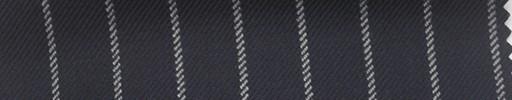 【Ha_fc67】ネイビー地+1.4cm巾白ストライプ
