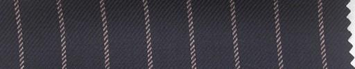 【Ha_fc69】ネイビー地+1.4cm巾ピンクストライプ