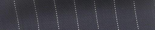 【Ha_fc82】ネイビー地+1.3cm巾白・織りストライプ