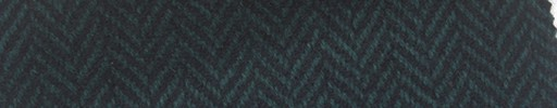 【Mi_5w007】グリーン黒1.8cm巾ヘリンボーン