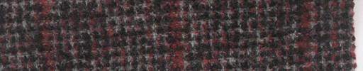 【Mi_5w013】グレー+5.5×4.5cm赤プレイド