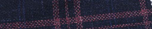 【Ca_7s187】ネイビー+9×7.5cm赤・ネイビーオーバープレイド
