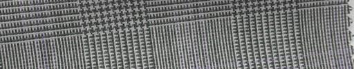 【Hs_cb01】白黒グレンチェック+5.5×4.5cmピンクプレイド