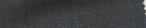 【Hs_pc03】グレーグレンチェック+5×4.5cmブループレイド