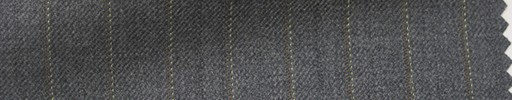 【Hs_pc04】ミディアムグレー地+1.2cm巾ブラウン・織り交互ストライプ
