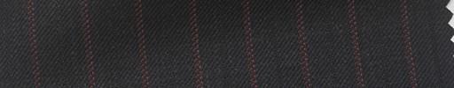 【Hs_pc05】黒地+1.2cm巾エンジ・織り交互ストライプ