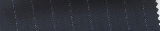 【Hs_pc06】濃紺地+1.2cm巾パープル・織り交互ストライプ