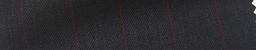 【Hs_pc08】チャコールグレー地+2cm巾赤ストライプ