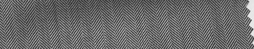 【Hs_pc26】白黒9ミリ巾ヘリンボーン