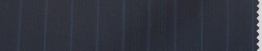 【La_6s005】ネイビー柄+1.1cm巾ブルー・織り交互ストライプ
