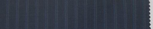 【La_6s008】ブルーグレー地+8ミリ巾ブルー・ドットストライプ