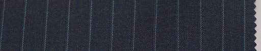 【La_6s011】ブルーグレー地+9ミリ巾白ドット・織りストライプ