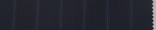 【La_6s013】ネイビー地+1.6cm巾ライトブルードット・織り交互ストライプ