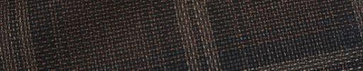 【Ca_01s872】ブラウン+8×6cmダークグリーン・オフホワイトチェック